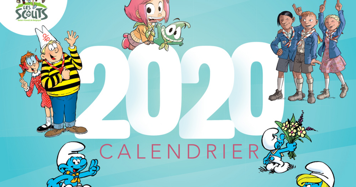 Achat Calendrier 2020.Campagne Calendrier Les Scouts