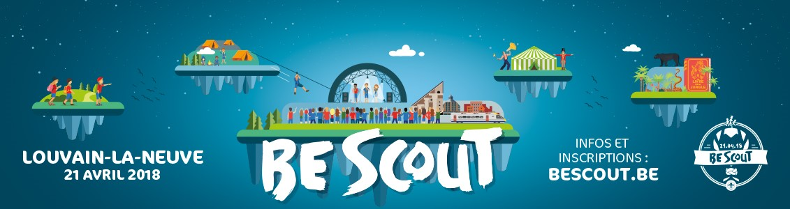 Banner Be scout